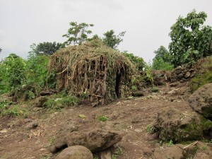 House in Batwa village