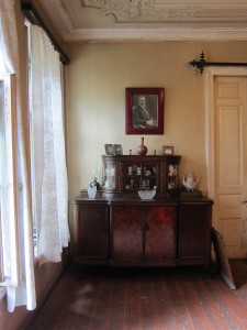 Furniture and portrait of Tamaz' great-grandfather